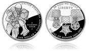 Medal of Honor Silver Dollar Design