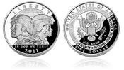 2011 U.S. Army Silver Dollar