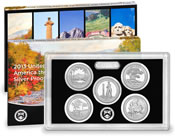 2013 America the Beautiful Quarters Silver Proof Se