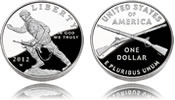 2012 Infantry Soldier Silver Dollar
