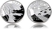 2012 Star-Spangled Banner Silver Dollar