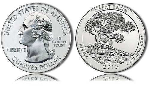 2013 Great Basin Silver Coin