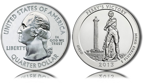 2013 Perry's Victory Silver Coin