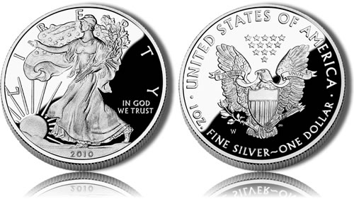 2010 Silver Eagle Proof Coin
