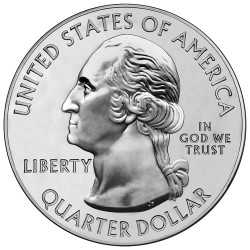 America the Beautiful Silver Coin Obverse