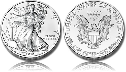 Silver American Eagles Coin Melt Values Information