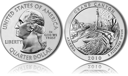 Grand Canyon Silver Bullion Coin