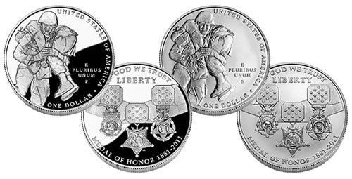 Medal of Honor Silver Dollar Commemorative Coins