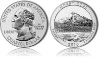 Mount Hood 5 oz Silver Bullion Coin