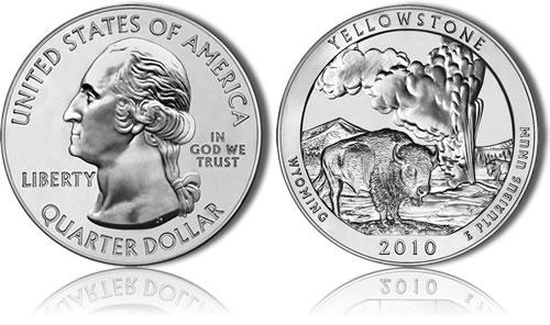 Yellowstone Silver Bullion Coin