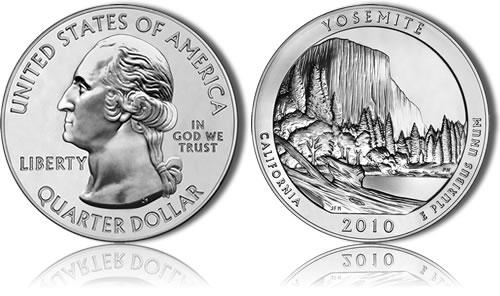 Yosemite Silver Bullion Coin