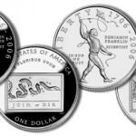 2006 Benjamin Franklin Silver Dollar Commemorative Coins