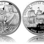 2007 Jamestown Silver Dollar Commemorative Coins