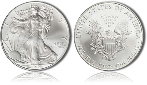 2009 Silver Eagle Bullion Coin