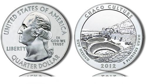 2012 Chaco Culture Silver Coin