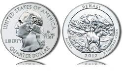 2012 Denali Silver Coin