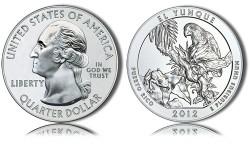 2012 El Yunque Silver Coin