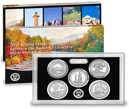 2013 S Mint 90/% Silver Proof Great Basin National Park Nevada QUARTER DOLLAR 25¢