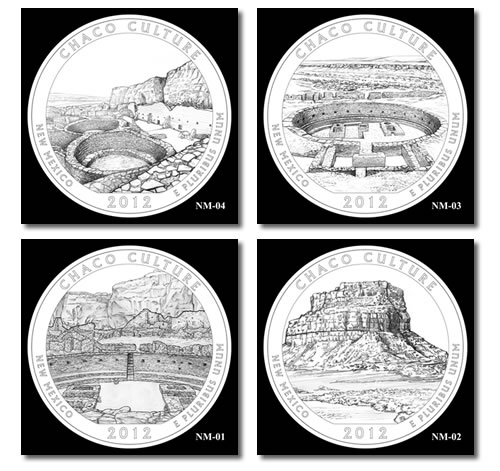 Chaco Culture Silver Bullion Coin Designs
