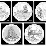 Hawaii Volcanoes Silver Bullion Coins