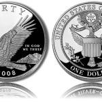 2008 Bald Eagle Silver Dollar Commemorative Coins