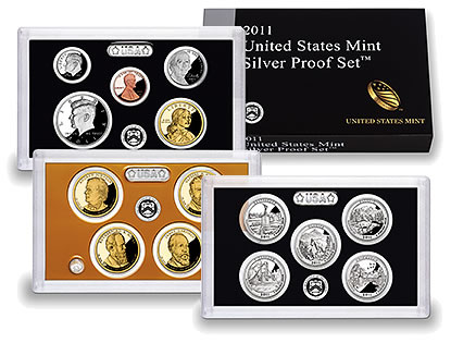 US Mint 2011 Silver Proof Set