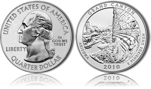 Grand Canyon Silver Coin