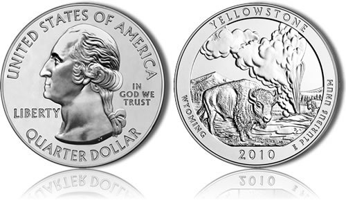 Yellowstone Silver Coin