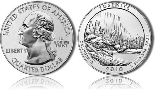 Yosemite Silver Coin