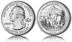 2011 Glacier America the Beautiful Coin