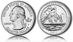 2011 Vicksburg America the Beautiful Coin