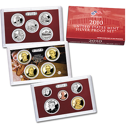 2010 Silver Proof Set (US Mint image)