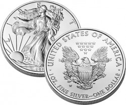 Silver Eagle Uncirculated Coin (US Mint images)