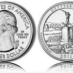 Gettysburg Silver Uncirculated Coins